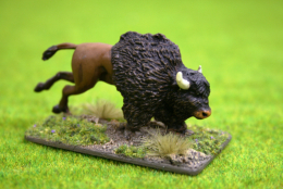 BISON – FRISKY YOUNG BISON DeeZee Miniatures DZ20 28mm Wargames