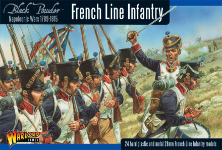 FRENCH LINE INFANTRY 1806 – 1810 Warlord Games Black Powder Napoleonic 28mm SD