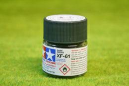 Tamiya Color DARK GREEN Acrylic Mini Paint XF61 10mls