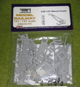 Dapol 15T DIESEL CRANE 1/76 Scale scenery Kit 00/HO C28