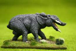 PLATYBELODON Adult Male DeeZee Miniatures DZ01 ( resin) 28mm Wargames