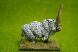 DeeZee Miniatures ELASMOTHERIUM Adult DZ03 28mm Wargames