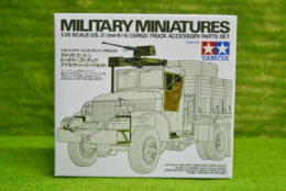 Tamiya WWII 2.5 Ton  6×6 CARGO TRUCK ACCESSORY PARTS SET 1/35 Scale Kit 35231