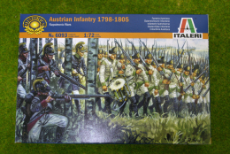 Austrian Infantry 1798 1/72 Italeri Napoleonic set 6093