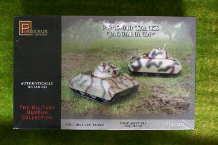 Pegasus 1/72 JAGUARUNDI P245-010 WW2 Tanks  set 7606