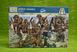British Infantry WWII 1/72 Scale Italeri Kit 6056