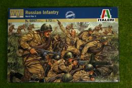 Russian Infantry WWII 1/72 Scale Italeri 6057