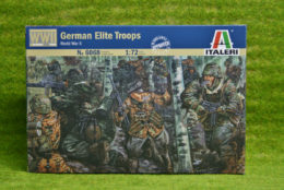 GERMAN ELITE TROOPS WW2 1/72 Scale Italeri kit 6068