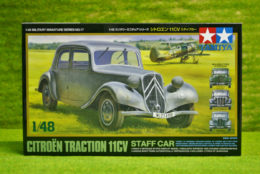 Tamiya CITROEN TRACTION STAFF CAR 1/48 Scale Kit 32517