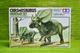 CHASMOSAURUS DINOSAUR DIORAMA set Tamiya 1/35 Scale kit 60101