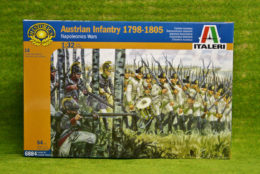 1:32 Scale AUSTRIAN INFANTRY 1798 54mm Italeri 6884