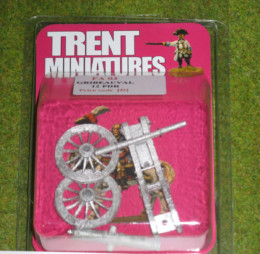 Trent Miniatures FRENCH GRIBEAUVAL 12pdr FA03 28mm