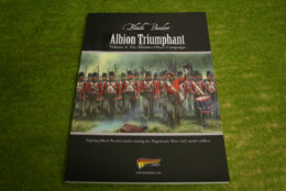 Black Powder ALBION TRIUMPHANT VOL.  2 – 100 Days Campaign Napoleonic supplement