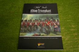 Black Powder ALBION TRIUMPHANT VOL.  2 – 100 Days Campaign Napoleonic supplement