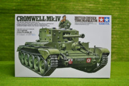 Tamiya BRITISH CROMWELL Mk IV Cruiser Tank 1/35 Scale Kit 35221