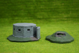 Conflix PILL BOX & DUG OUT 20mm 25mm Terrain & Diorama 6501
