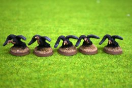 VULTURES pack of 5 DeeZee Miniatures DZ17 28mm Wargames