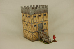 Dark Age NORMAN TOWER Sarissa Precision MDF 28mm scale Building J008