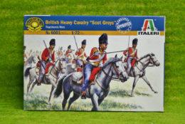 British Heavy Cavalry 'Scots Greys' 1815 1/72 Italeri Napoleonic 6001