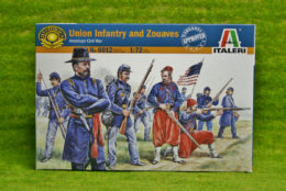 Union Infantry and Zouaves ACW 1/72 Italeri 6012