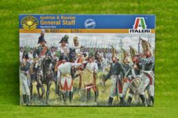 Austrian & Russian Staff 1/72 Italeri Napoleonic 6037