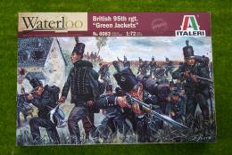 British 95th Regiment Infantry 1/72 Italeri 6083