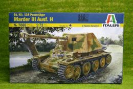 Italeri Sd. Kfz. 138 MARDER III Aus.H 1/72 Kit 7060