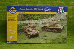 CARRO ARMATO M13/40 1/72 Scale quick build Italeri 7517