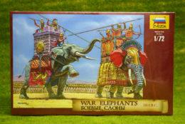 War Elephants Ancients 1/72 Zvezda Historical 8011