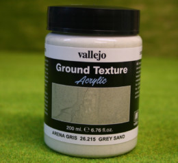 Vallejo GREY SAND PASTE 200mls Stone Textures Scenery acrylic Medium 26215