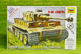 1:72 Scale TIGER 1 German Heavy Tank Zvezda 5002