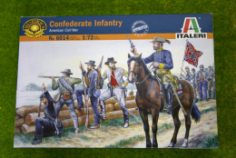 Confederate Infantry ACW 1/72 Italeri 6014 set