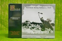 WW2 GERMAN ARMY INFANTRY 1939 Pegasus 1/76 set 7499