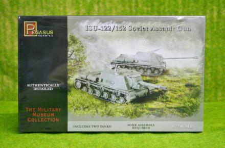 Pegasus 1/72 WW2 ISU-122/152 Soviet Assault Guns 7670