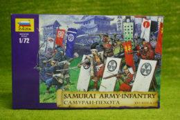 Samurai Army Infantry 1/72 Zvezda 8017 Wargames