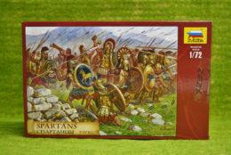 1:72 Scale SPARTANS V – IV BC Zvezda 8068