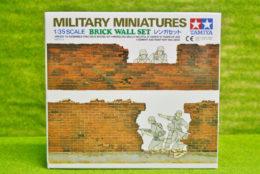 BRICK WALL set for Dioramas & Terrain Tamiya 1/35 kit 35028