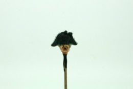 Trent Miniatures SEPARATE HEADS Bicorne 'en bataille' Wargames EDZ#3 28mm