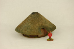 Dark Age CELTIC ROUND HOUSE HOUSE  MDF 28mm scale Building J017