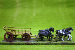 Trent Miniatures Wagon – LADDER SIDED WAGON 28mm Wargames