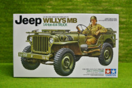 Tamiya U.S. WILLYS MB JEEP 4 x 4 Truck 1/35 Scale Kit 35219