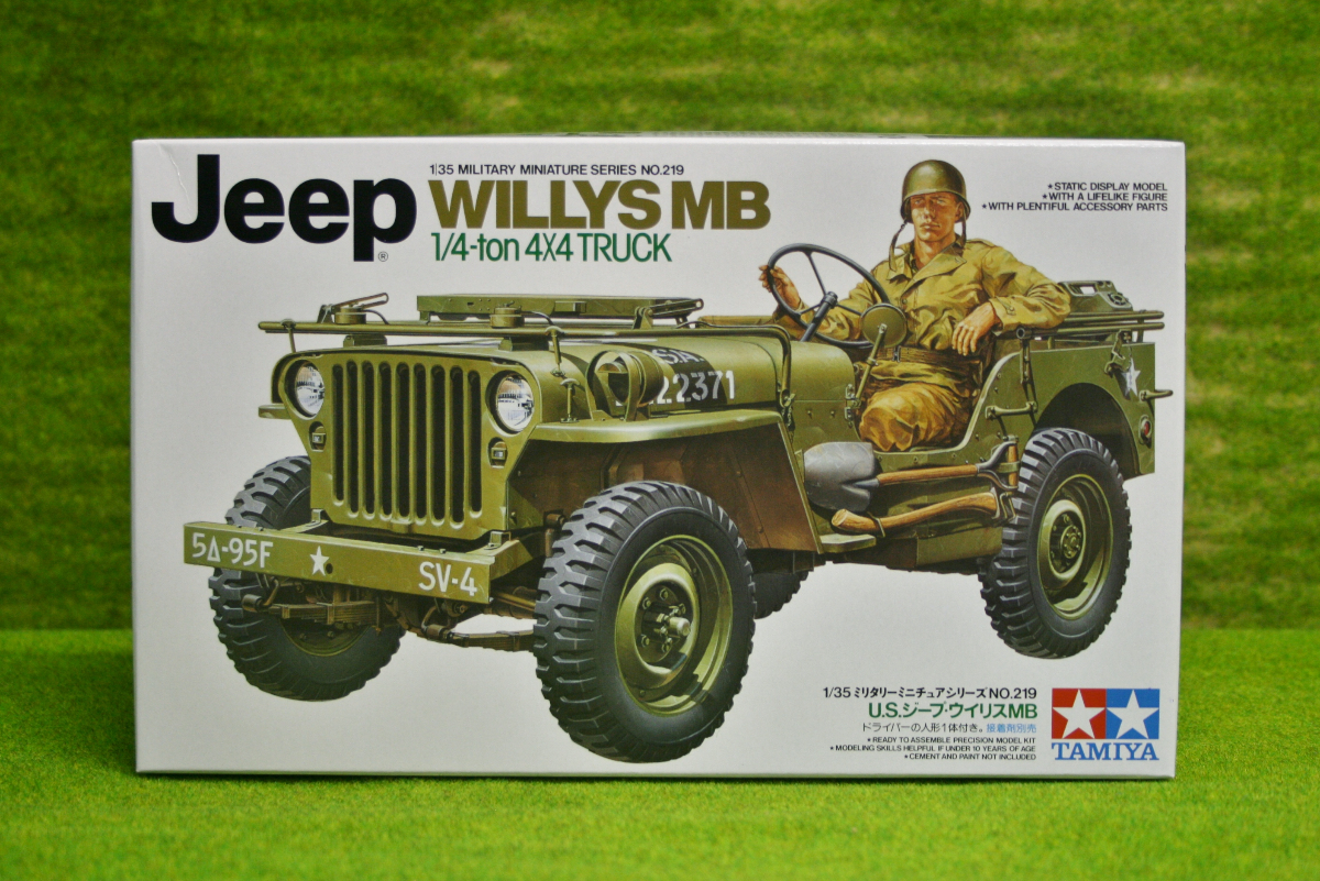 tamiya u s willys mb jeep 4 x 4 truck 1 35 scale kit. Black Bedroom Furniture Sets. Home Design Ideas