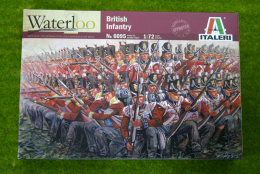 British Infantry Waterloo 200 1815 1/72 Italeri Napoleonic 6095