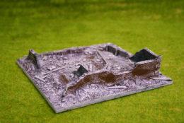 Stalingrad Winter Ruins Conflix 20mm 25mm Terrain 6506