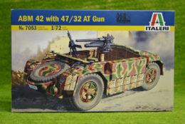 Italeri ABM 42 with 47/32 AT gun 1/72 Scale Kit 7053