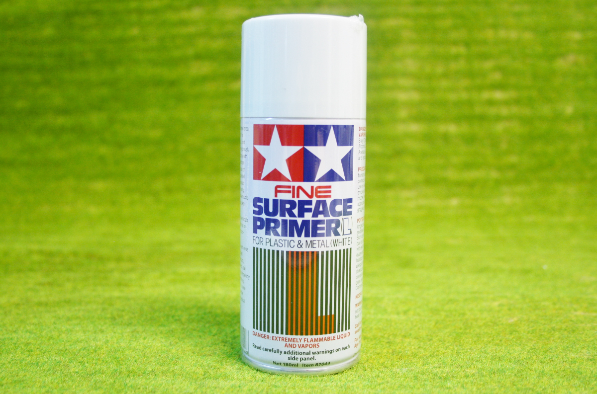 Tamiya Acrylic Matt Fine Surface Primer White Spray Paint 87044 Arcane Scenery And Models