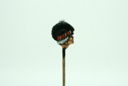 Trent Miniatures SEPARATE HEADS Tarletons Wargames EDZ#4 28mm