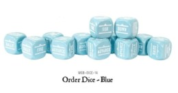 Bolt Action ORDERS DICE SET of 12 – BLUE