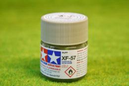 Tamiya Color BUFF Acrylic Mini Paint XF57 10mls
