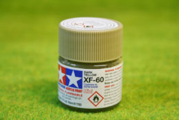 Tamiya Color DARK YELLOW Acrylic Mini Paint XF60 10mls